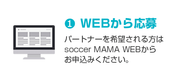 1.WEBから応募