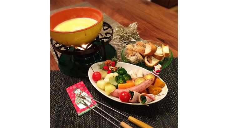 野菜が美味しい★チーズフォンデュ