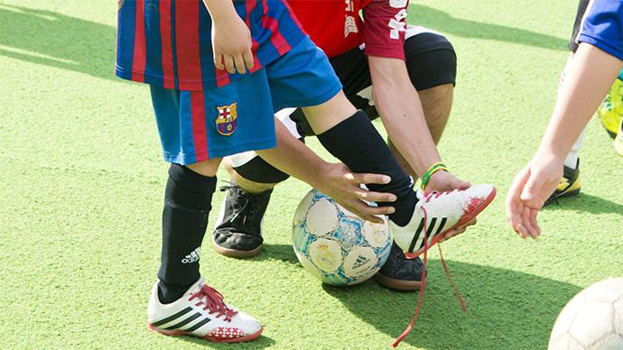 怪我でプレーできないときの声かけ方法