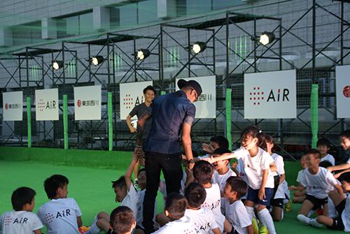 ネイマールサッカー教室