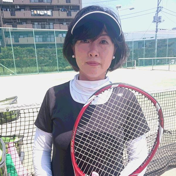 テニスが1番の楽しみ