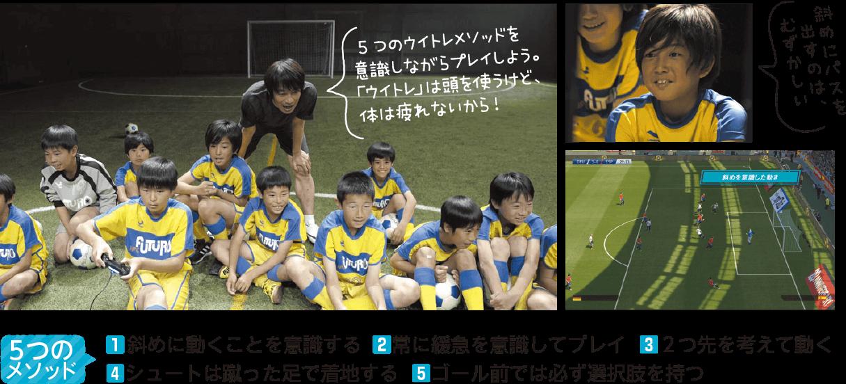 「ウイトレ」でサッカー力をつけるための5つのメソッド