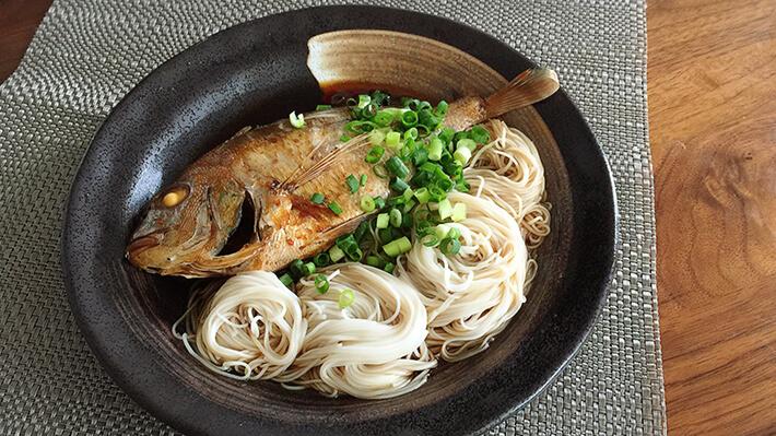 ワイワイ食べれる鯛にゅう麺