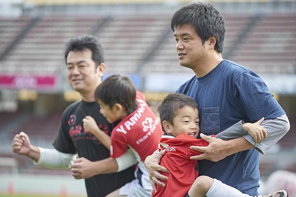 親子体幹トレーニング