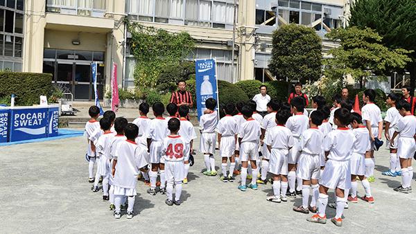 大宮大成サッカースポーツ少年団が参加