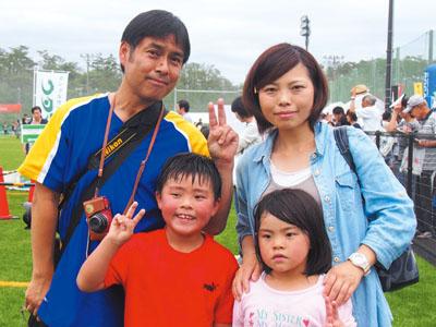 古山さん家族