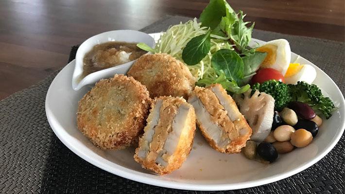 サクッと柔らか★レンコンの大豆サンドフライ
