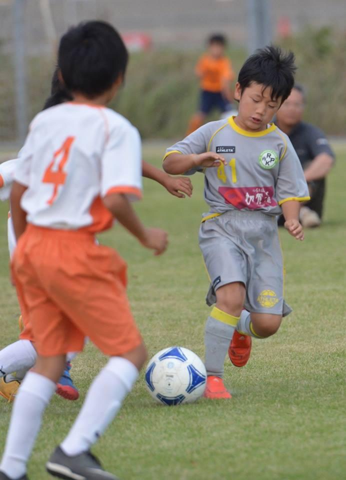 サッカーを楽しむ!