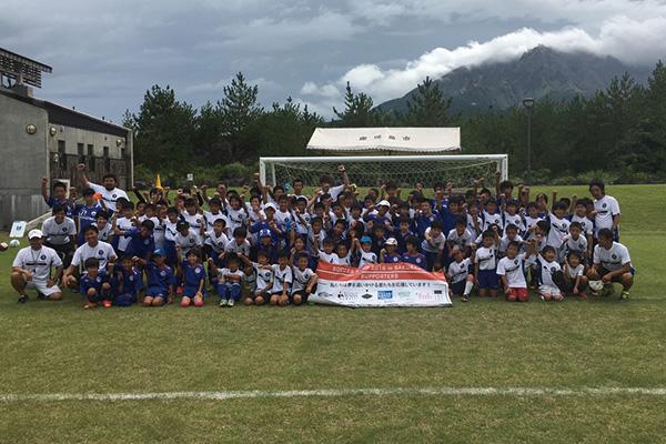 サッカーキャンプ2017 in 桜島