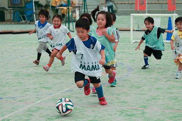 ウタマロキッズサッカーチャレンジ