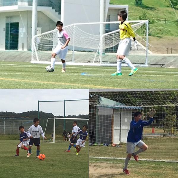 サッカーを頑張るお子さんたちを献身的にサポート