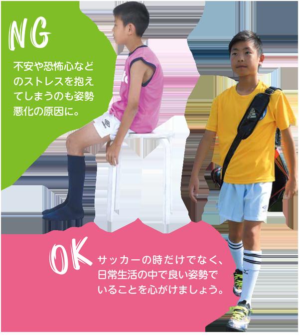 ケガを防ぐためには、良い姿勢と足裏の感覚が大事