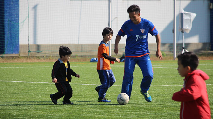 親子ふれあいサッカーフェスタ