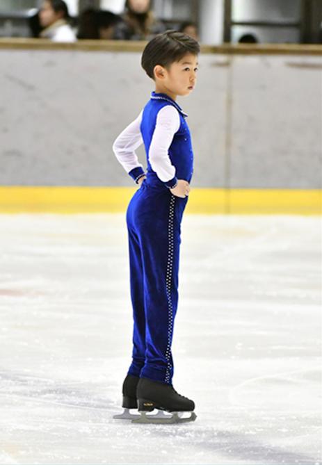 スケートで体幹も鍛えられた