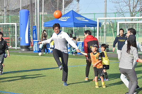 本田圭佑プロデュース ソルティーロ・ファミリア・親子サッカースクール